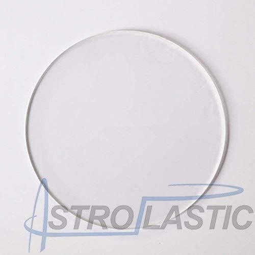 Astroplastic Disco in plexiglass Trasparente 6 mm Taglio Laser Tondo Cerchio /Ø da 15 a 90 cm Diametro cm 15