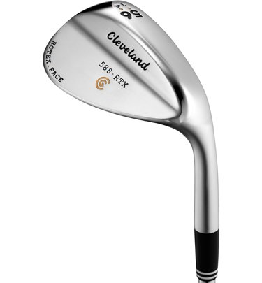 Cleveland Golf Men's 588 RTX Satin Chrome High Bounce Wedge (Right Hand, Steel, Wedge, 56 Degree)
