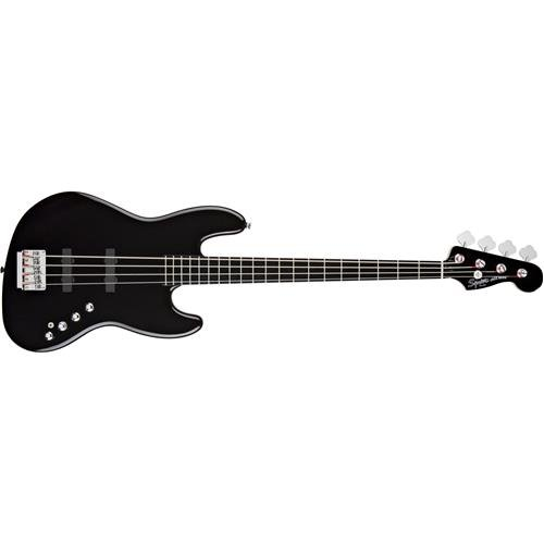Price comparison product image Squier by Fender 300574506 Deluxe Active Jazz Bass IV String,  Black