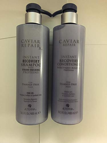 Alterna Caviar Repair Instant Recovery Shampoo and Condition