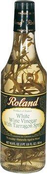 Roland French White Wine Vinegar with Tarragon Sprig - 16.9 oz