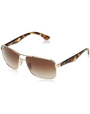 Men's RB3516 Square Sunglasses