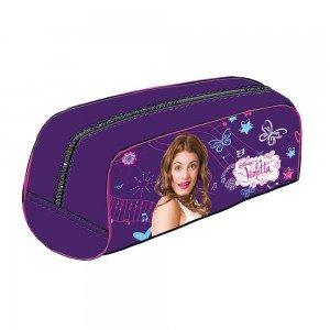 Estuche portatodo Violetta Disney Purple: Amazon.es ...