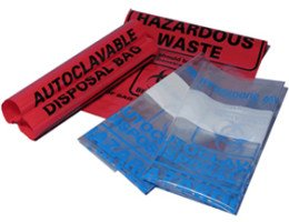 MTCBio - Red autoclave bag 8.5 x 11 inch (22.6 x 28 cm), case of 100