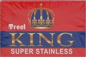 100 Treet King Double Edge Razor Blades