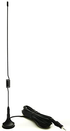 Antena DAB - Original Natural Carretera RADIO DE COCHE MAGNÉTICO 28cm ALTA GANANCIA 4m Cable
