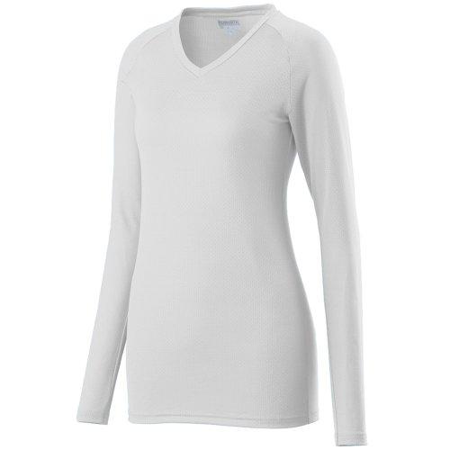 Augusta Sportswear Womens Assist Jersey, White, - Augusta Women