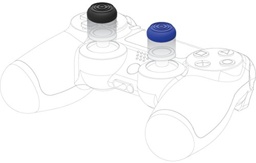 Snakebyte Snakebyte Control:Caps - 4x Thumb Grips for Playstation 4 (2x Black/ 2x Blue) - PlayStation 4