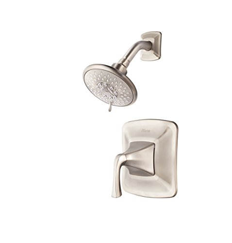 Pfister 8P5-WS-SLSK Pfister Selia One Handle WaterSense Shower Faucet with MultiFunction Showerhead Brushed Nickel