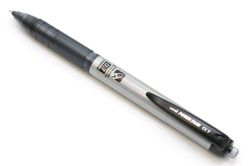 Uni Power Tank Smart Series Ballpoint Pen - 0.7 mm - Silver Body