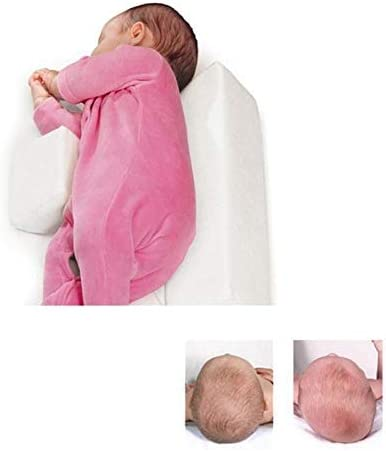 Muitar Baby Pillow,Flat Head,Head Shaping,Nursery Cushions,babycare,Newborn Baby Shaping Styling Pillow Anti-Rollover Side Sleeping Pillow Triangle Infant Baby Positioning Pillow for 0-6 Months