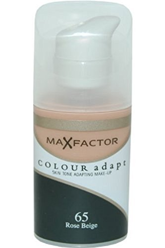 Max Factor Colour Adapt Skin Tone Makeup, No.65 Rose Biege,1