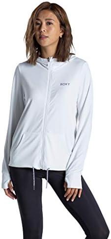 【ROXY ロキシー】 ラッシュ パーカー 速乾 UVカット AURORA 【RLY201017 WHT S】