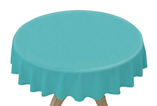Disposable Plastic Table Covers (12 Pack, 84