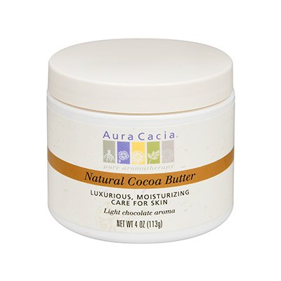 2 Packs of Aura Cacia Organic Cocoa Butter - 4 Oz