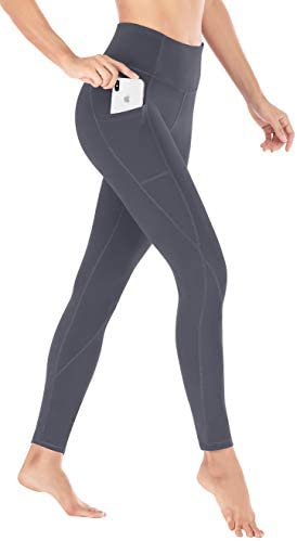 Heathyoga 2 Pack Yoga Pants for Women with Pockets Leggings with Pockets for Women High Waist Workout Leggings for Women 3