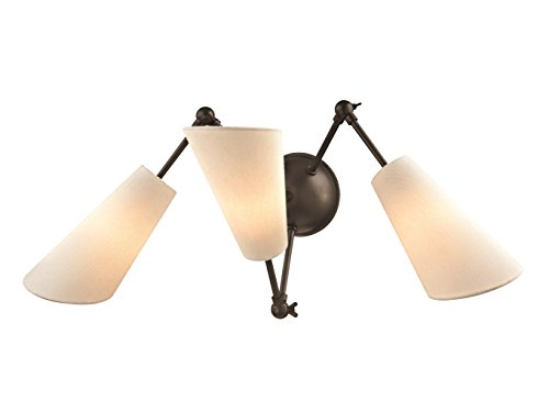 Hudson Valley Lighting 5300-OB Buckingham 3 Light Wall Sconce Old Bronze