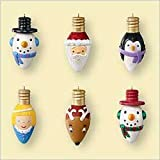 Merry and Bright Miniature Set 2006 Hallmark Ornament QXM2183