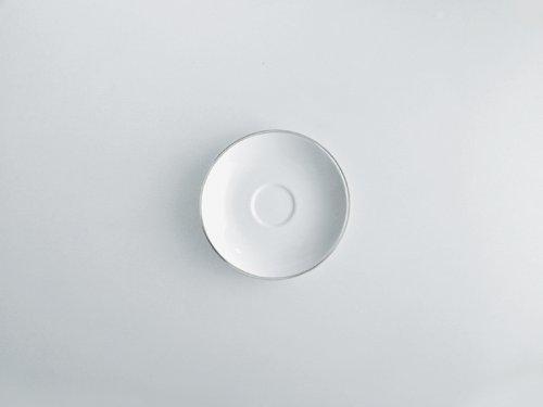 Mami Platinum 6.24'' Saucer for Teacup [Set of 6]