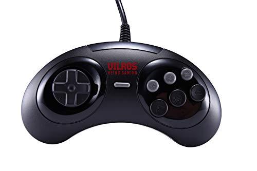 Vilros Retro Gaming SEGA Genesis Style USB Gamepads-Set of 2 (Sega Controller Genesis Pc)