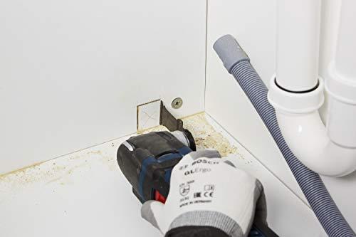Bosch 2608595400 M/Ã/¨che plate Self Cut Speed avec queue six pans 1//4 /Ã/˜ 6 mm Longueur 400 mm