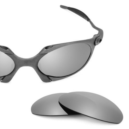 Revant Replacement Lenses for Oakley Romeo 1 Sunglasses Polarized Titanium