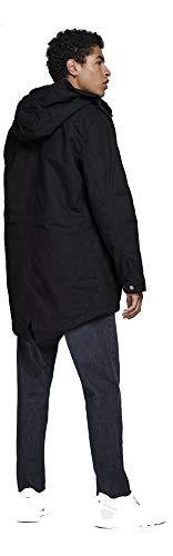 amp; Parka Bento Jack Homme Jacket Jornew Jones Noir SqddCI
