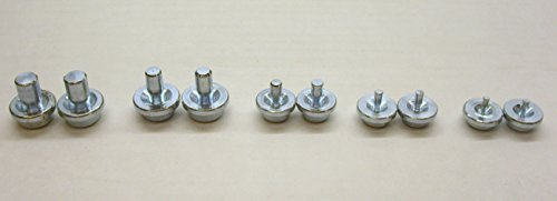 (Double Flaring Tool Replacement Dies 10 Pieces 2 of Each Size)