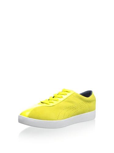 PUMA Women's Munster Sneaker Sneaker, Fluo Yellow, 8.5 B US