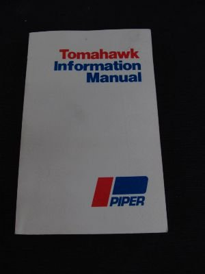 Piper Tomahawk Information Manual; PA-38-112 (Handbook for sale  Delivered anywhere in USA