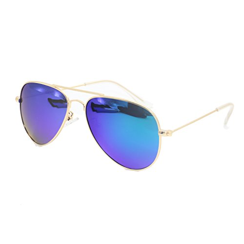 Evebright Kid's Child(2~9yr Old) Classic Uv 400 Polarized Aviator Sunglasses
