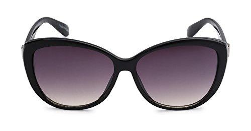 Eason Eyewear Women's Indie Oversized Cat Eye Sunglasses Eye Styled 53 mm - Eyewear Indie