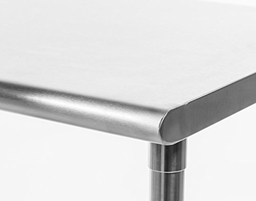 TRINITY EcoStorage NSF Stainless Steel Table, 48-Inch by Trinity (Image #11)