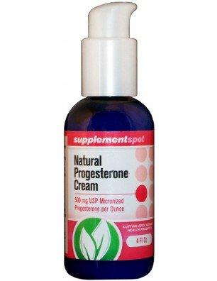 Progestérone naturelle crème, 4 fl oz
