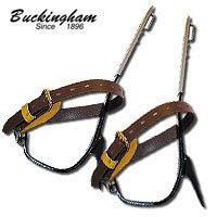 Buckingham 3-1/2'' Permanent Gaff Steel Climbers by Buckingham Mfg