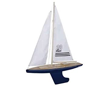 Skipper 20-inch Pond Yacht Offshore Hull (Blue)