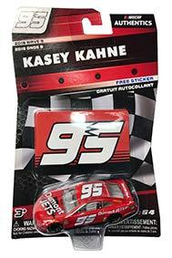 NASCAR Authentics Kasey Kahne #95 Diecast Car 1/64 Scale - 2018 Wave 9 - with Die Cut Sticker - Collectible (Kasey Kahne Diecast 2018)