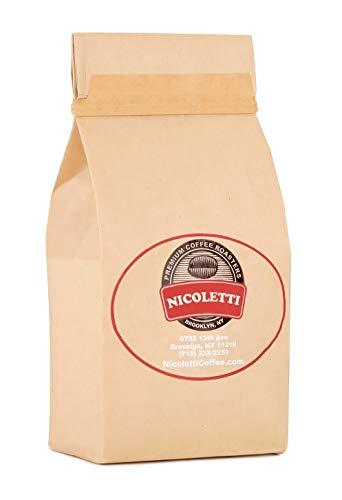 Nicoletti Coffee Espresso Roast 1 Pound Whole Beans(Made in Brooklyn since 1972)
