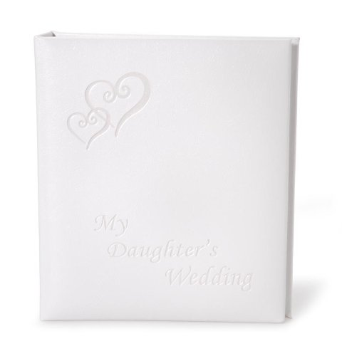 Heart Acrylic Album - Darice VL42, My Daughters Wedding Album, Holds 48, 5-Inch-by-7-Inch