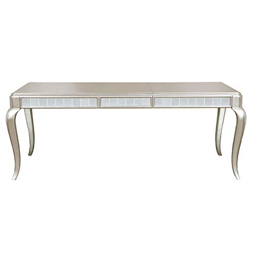 Home Fare Diva Rectangular Leg Table