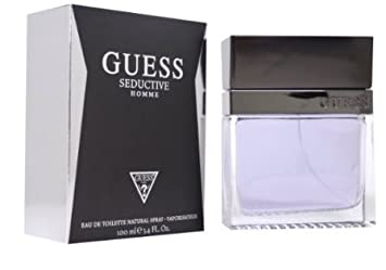 Amazoncom Guess Seductive Men Edt Spray Parfum Perfume 34 Fl Oz