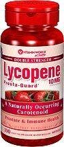 Vitamin World Double Strength Lycopene 10mg, Prosta-Guard, 100 Softgels, 1 Bottle