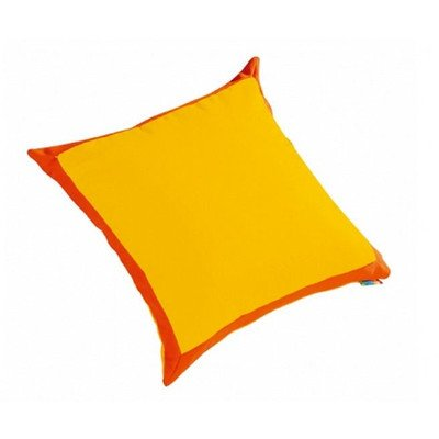 (Cocoon Kid's Floor Cushion Cover Color: Yellow / Orange)