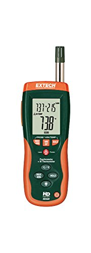 Extech HD500 NIST Psychrometer Infrared Thermometer