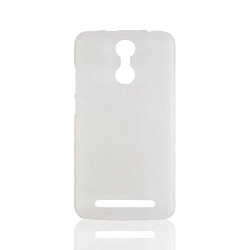 Guran® Plástico Hard Funda Cascara para Homtom HT17 / HT17 Pro Smartphone Bumper PC Case Cover-blanco blanco