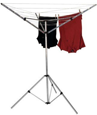 Household Essentials P1900 Portable Umbrella Clothesline Dryer - Hang...