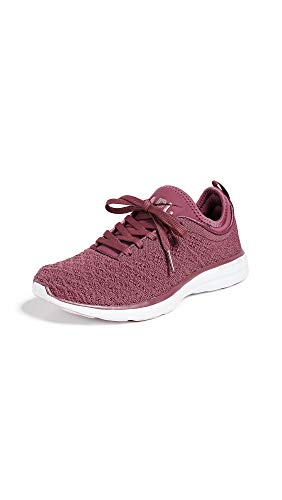 APL: Athletic Propulsion Labs Women's Techloom Phantom Sneakers, Victorian Red/Dusty Rose, 7 M US