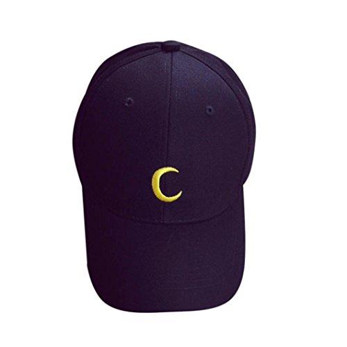 [Iuhan® Embroidery Cotton Baseball Cap Boys Girls Snapback Hip Hop Flat Hat (Black)] (Baseball Girl Costume)