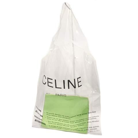 030204dd014d CELINE(セリーヌ) ロゴプリントビニールバッグ&ポーチ クリアトート ハンドバッグ クラッチバッグ 小物