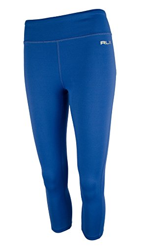 Polo Ralph Lauren Women's RLX Cropped Legging-BI-M Blue (Lauren Leggings)